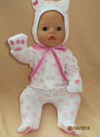 Как сделать для кукол беби бон одежда