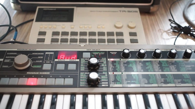 Can I run OTHER instruments through the microKORG? YES