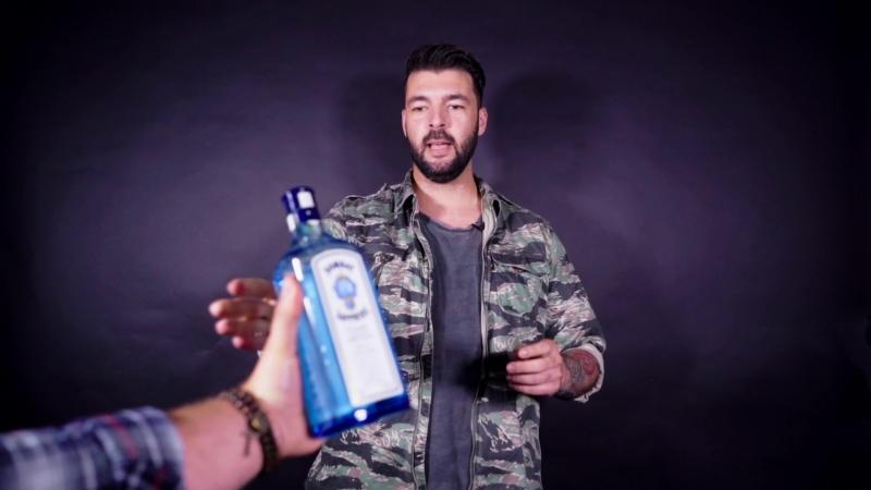 DJ Insane поёт караоке и пьёт джин