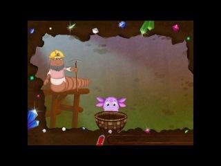 Лунтик - Добыча самоцветов. Обучающее видео для детей.