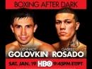 Gennady Golovkin vs Gabriel Rosado