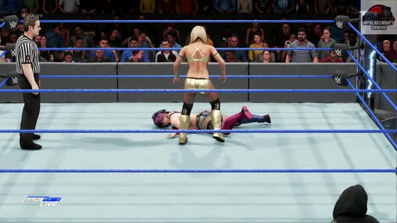 WWE 2K19 Asuka vs Mandy Rose Smackdown Live Universe Mode !