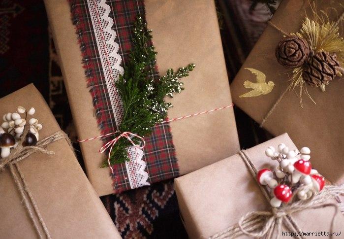 Упаковки новогодних подарков ростов