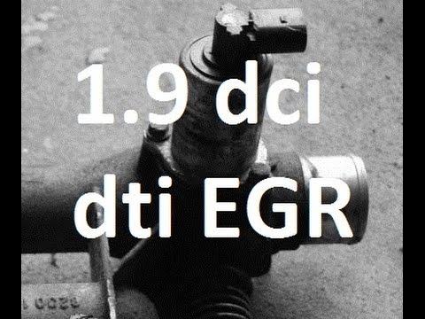 Wymiana, czyszczenie EGR 1.9 dti/dci/cdti Vivaro Trafic Laguna Megane Clio Kangoo F9Q F8T p0400