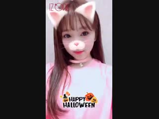 Happy Halloween with IZONE. Nako 	@ izone_girls
