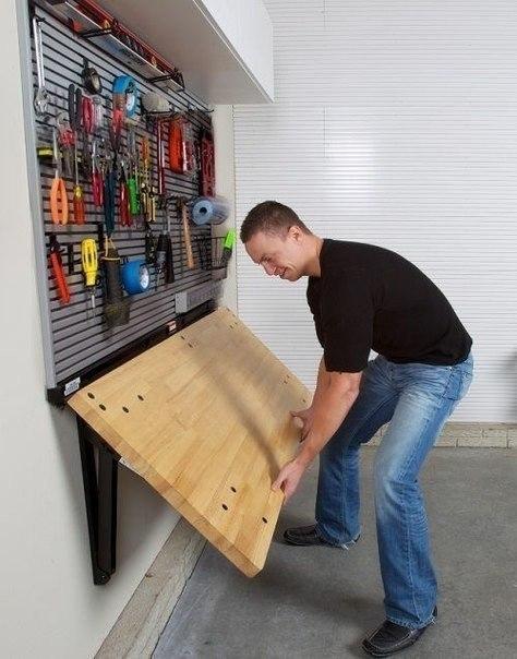 Интересные решения для гаража своими руками 36