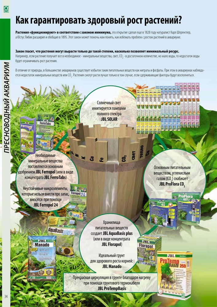 Жидкое удобрение для аквариумных растений 34