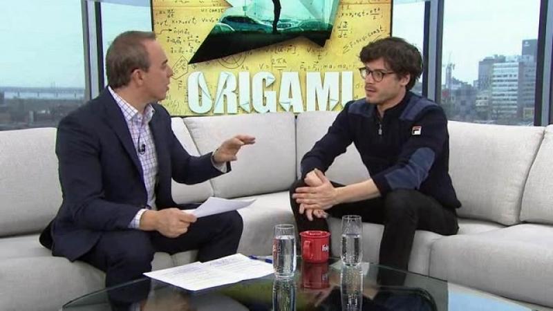 François Arnaud vient nous parler du film Origami - Salut Bonjour, April 2018
