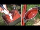 Натуральная Краска своими руками в 10 раз дешевле обычной и может служить десятки лет