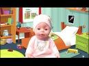 Куклы пупсики Первый снег ❄️ Играем как мама 💥 Песенка про пальчики