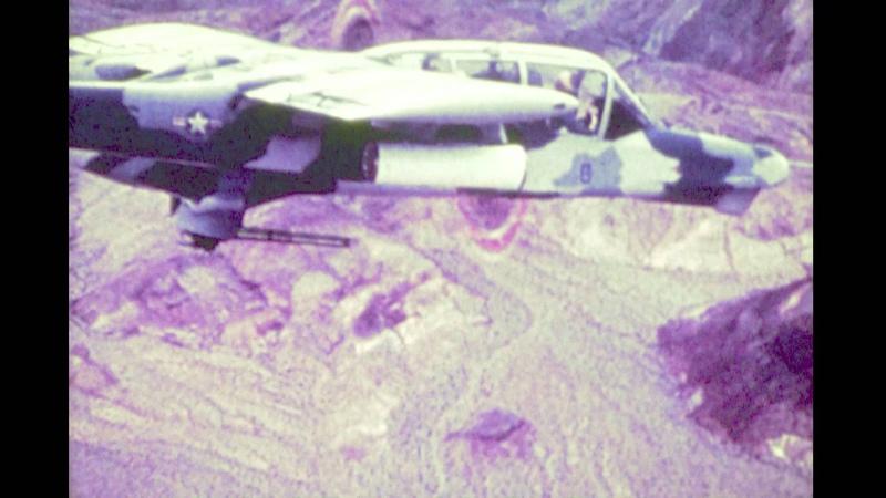 North American BRONCO YOV-10D NOGS