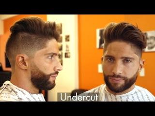 Undercut & Beard ★ How to style hair ★ Men's hair inspiration