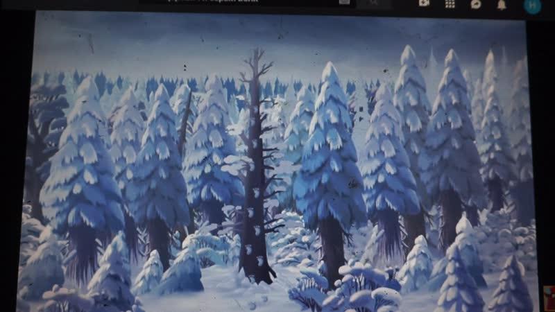 мульт.илюстрация из м\ф Иван Царевич и Серый волк к мини-рассказу про щенка