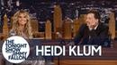 Heidi Klum's Topless Magazine Cover Gets Jimmy Flustered