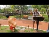 Любимое место отдыха корейцев с детьми - Пуппу парк (парк какающих людей, туалетов и какашек)