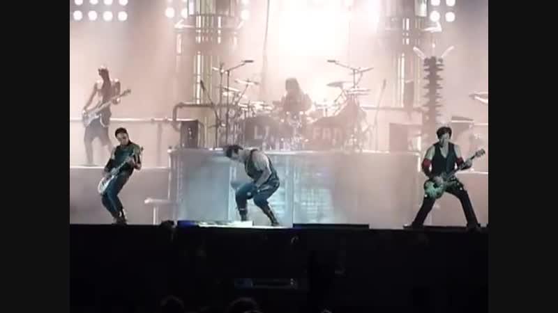 11. RAMMSTEIN - Du hast (live in Belgium on ROCK WERCHTER MUSIC FESTIVAL) (03.07.10)