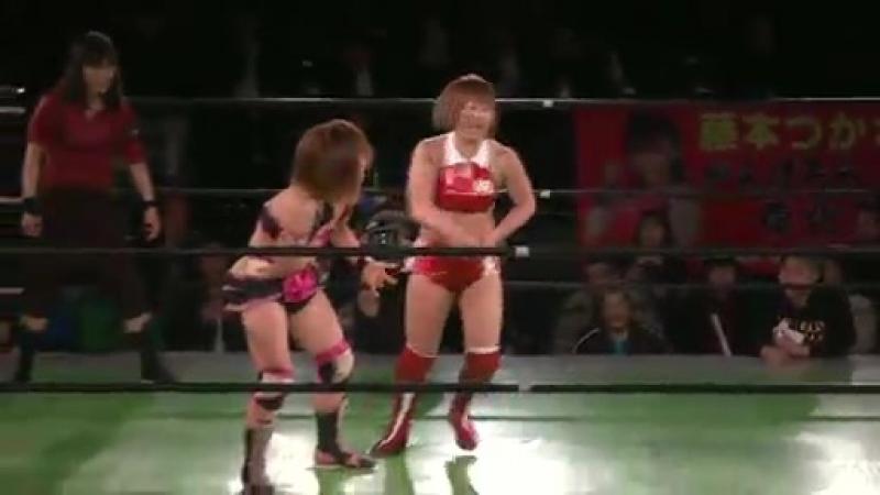 5 Ozaki Gun Arisa Nakajima Mayumi Ozaki Tsukasa Fujimoto Yumi Ohka vs Koharu Hinata Rabbit Miyu Sareee Yuuka 3 14 16