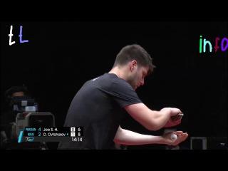 Dima Ovtcharov vs Joo Se Hyuk (2017 T2APAC) Team Rossi vs Team Persson | ドミトリ・オフチャロフ x 朱世赫