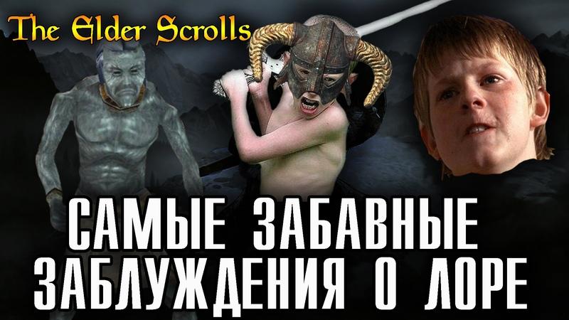 Самые забавные ЗАБЛУЖДЕНИЯ игроков о лоре The Elder Scrolls AshKing