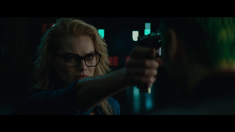 Suicide Squad - Harley chases the Joker on a motorcycle (2016)