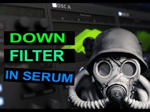 DOWNFILTER SOUND IN SERUM TUTORIAL (Free Preset)