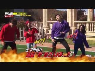 IDOL was played as BGM on Running Man   Running Man cast danced to Fire BTS @BTS_twt