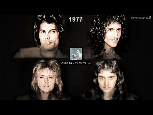 QUEEN Aging Together 1968-2018
