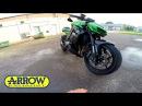 2015 Kawasaki Z1000 Arrow Headers Install Soundtest