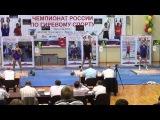 Russian Championship 2014. Long cycle 85kg. Denis Vasiliev- 89 reps