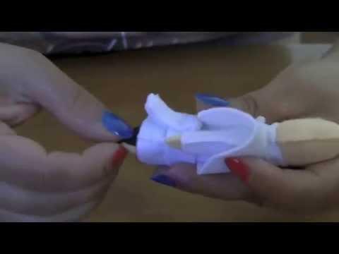 D.I.Y.Como fazer o Papa François de feltro(chaveiro ou imas de geladeira)