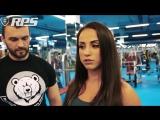 Тренировка женских плеч от Кости Бубликова - с Катей Кузовковой и Зиной Руденко.