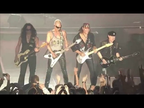 Scorpions Live Paris Full Concert 2018 HD