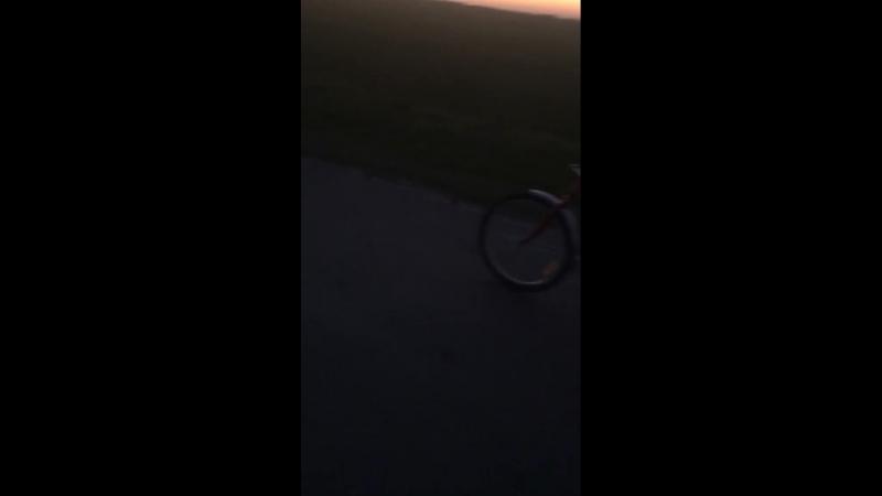 Вело-прогулка вечером