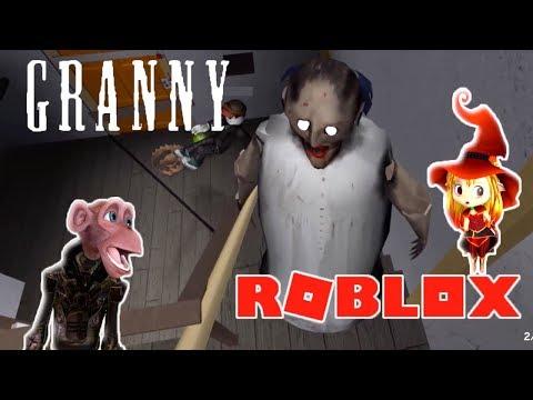 Играем За Гренни в Роблокс как в Реальной жизни Симулятор GRANNY Roblox топ 2018
