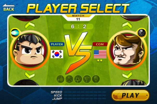 Скачать Head Soccer для android