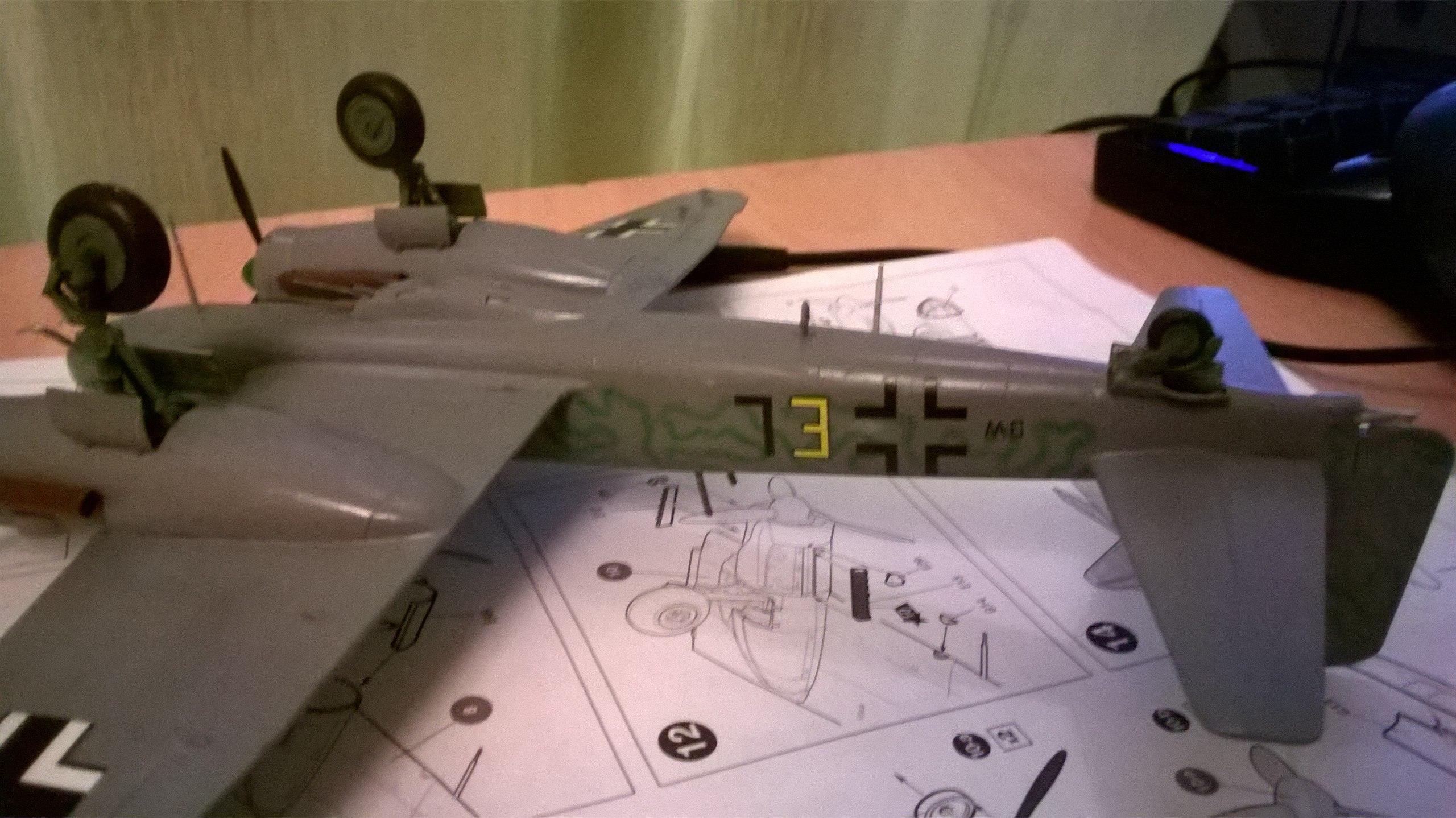 Ju-88 G-6 1/72 (Звезда) Fzvo2nqaZ1c