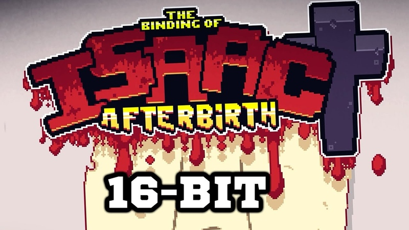 16-bit Mod - The Binding of Isaac Afterbirth