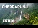 SPECTACULAR WATERFALLS LIVING ROOT BRIDGES IN CHERRAPUNJI, MEGHALAYA, INDIA
