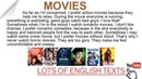 Movies (Films)   Lots of English Texts with Audio