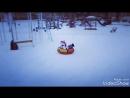 Снегокат Тимка спорт 4 1 и тюбинг Вихрь