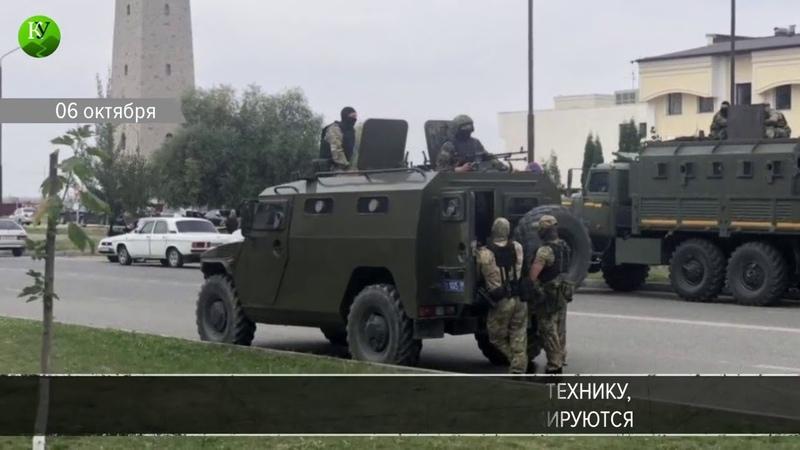 Бунт в Ингушетии Ингуши отвергли соглашение с Кадыровым