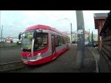 Трамваи на конечной станции