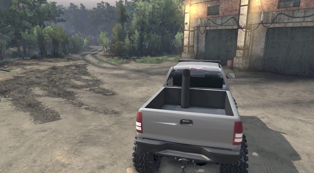 Chevy 2500 duramax 1.1 для Spintires - Скриншот 3