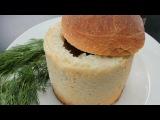Время обедать! Суп с клецками против супа в хлебе. Выпуск от 20.01.2014
