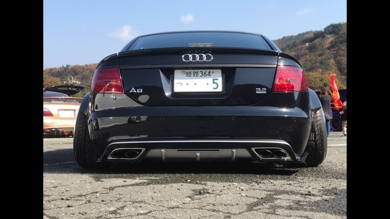 Audi A6 3.2 Quattro Wide Body Bagged Tuning Project by Seibo