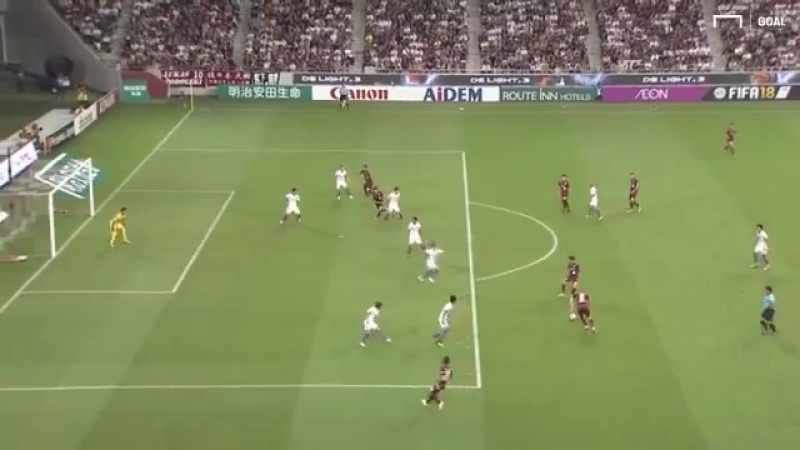 Hes only gone and done it AGAIN! - - Iniestas second goal for Vissel Kobe is an absolute beauty! .mp4