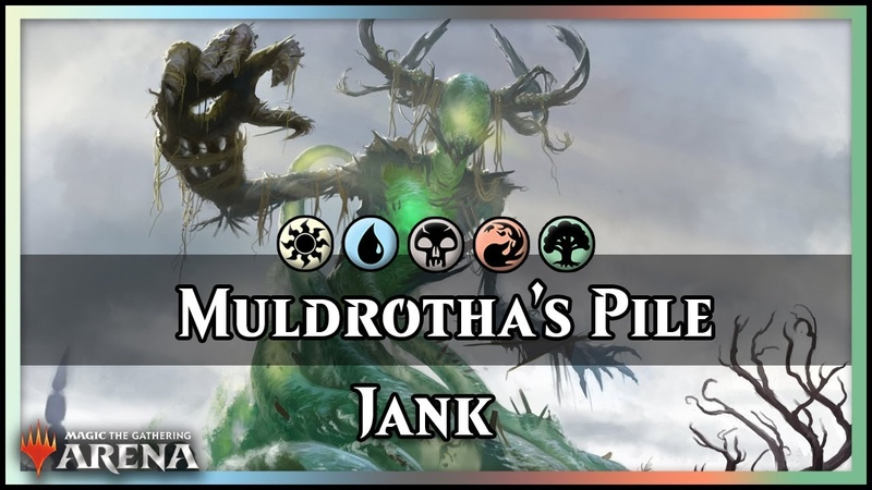 Muldrotha's 5-Color Pile | Guilds of Ravnica Deck, feat. Jace Cosplay [Magic Arena]