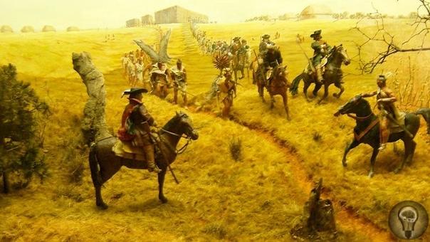 КАК БРИТАНСКИЕ И ИСПАНСКИЕ КОЛОНИЗАТОРЫ БОРОЛИСЬ ЗА ГОСПОДСТВО ВО ФЛОРИДЕ 315 лет назад во Флориде произошло столкновение, известное как Резня апалачей. Сначала британец Джеймс Мур приказал