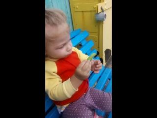 маленький любитель гороха