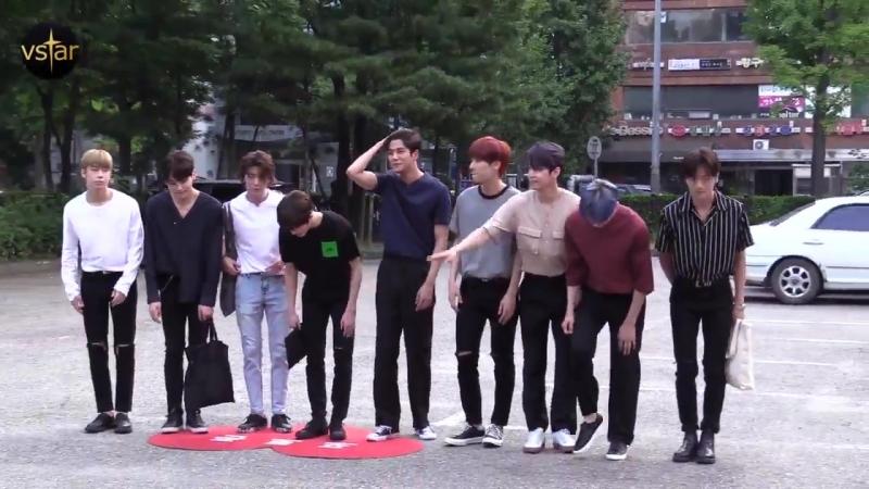 [PRESS] 180803 SF9 arriving at KBS Music Bank by Vstar -